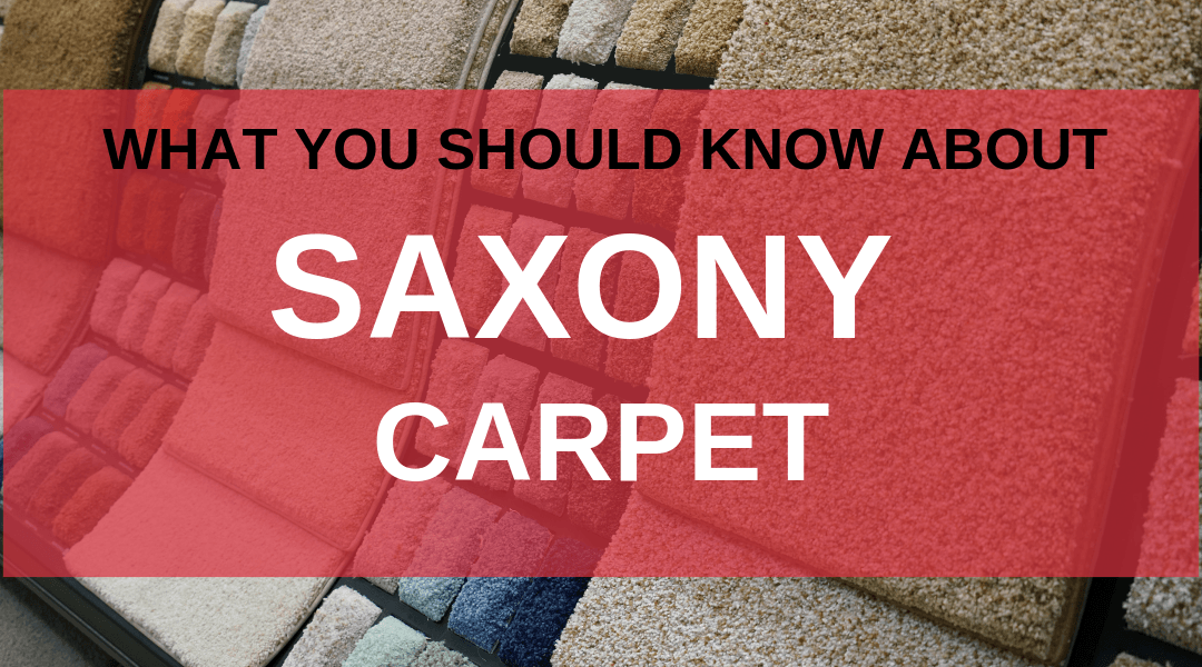 What You Should Know About Saxony Carpet